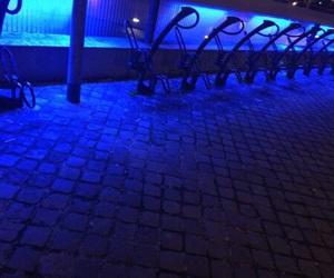aesthetics and blue image