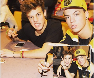 cameron dallas, boys, and taylor caniff image