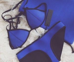 summer, bikini, and blue image
