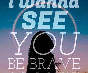 aura, brave, and bravery image