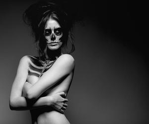art, backstage, and Halloween image