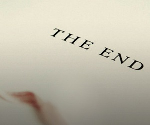 the end and book image