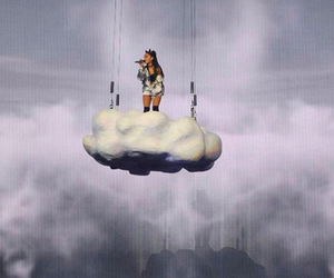 cloud, arianagrande, and honeymoontour image