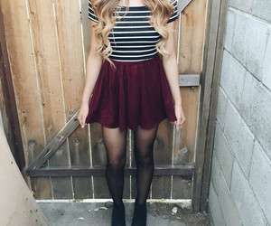 fashion, makeup, and tights image