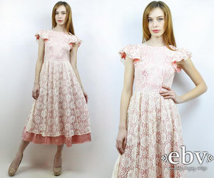 etsy, party dress, and pink dress image