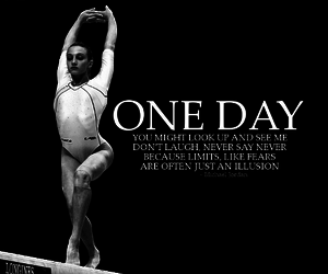 Dream, gymnastics, and one day image