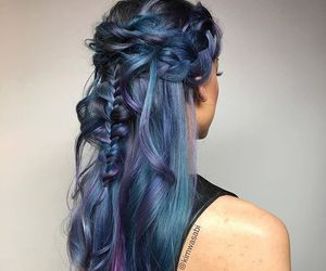 beauty, braided, and braided hair image