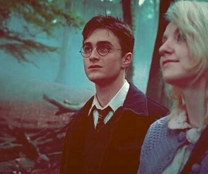 harry potter, luna lovegood, and book image