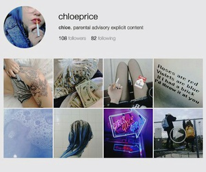 chloe price, instagram, and lis image