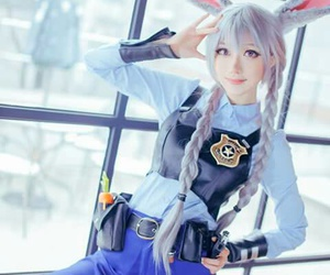 cosplay, zootopia, and movie image