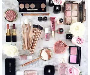 rose, beauty, and eyeshadow image