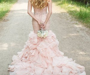 dress, pink, and cortesirena image
