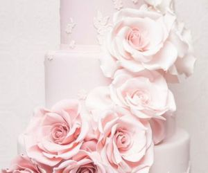 beautiful, cake, and wedding image