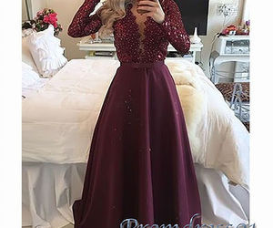 ball gown, dress, and girls image