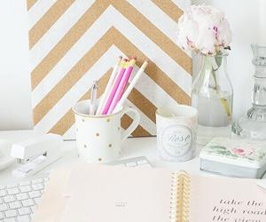 desk, fashion, and pretty image