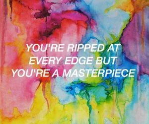 colors, halsey, and Lyrics image