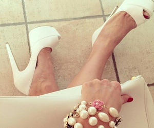 white shoes and tacchi dipendente image