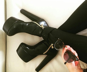 black heels, 👠, and tacchi dipendente image