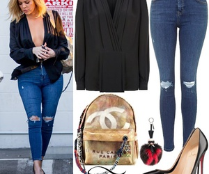 khloe kardashian and steal her style image