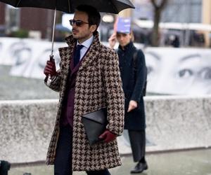 pied de poule and coat image