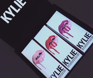 beauty, kylie, and lipstick image