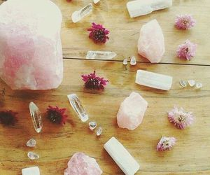 crystals, pink, and random image