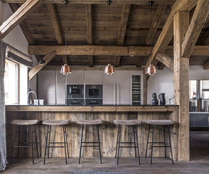 design, wood, and kitchen image