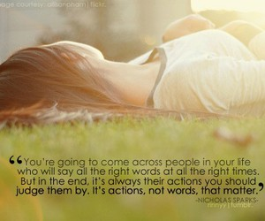 quote and nicholas sparks image
