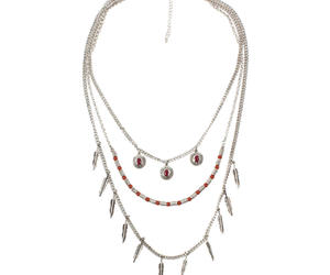 feathers, lovely, and necklace image
