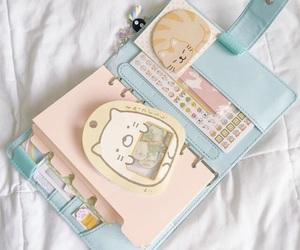 pastel, kawaii, and notebook image