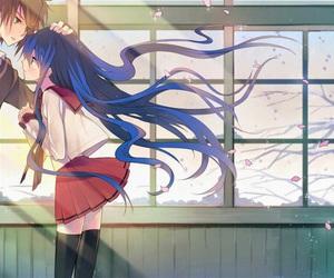 anime, kawaii, and sakura image