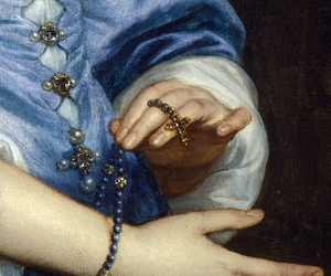 detail, dress, and painting image