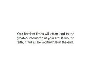 faith, qoute, and sad image