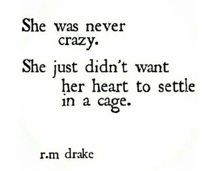 quotes, crazy, and heart image