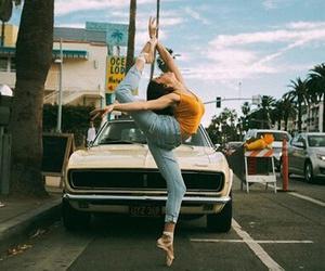 ballerina, gymnast, and retro image