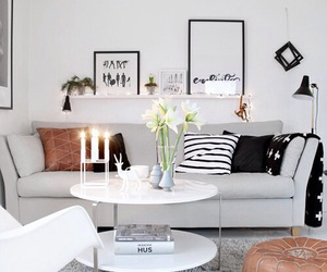 living room, decoration, and decor image