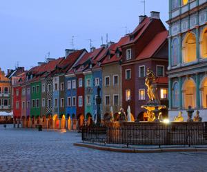 Poland and poznan image