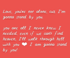 Lyrics, stand by you, and rachel platten image