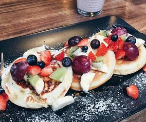 pancake, yummi, and foodporn image