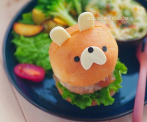 kawaii and kawaii food image