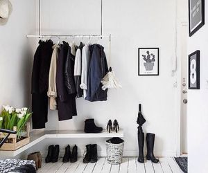 black, room, and shoes image