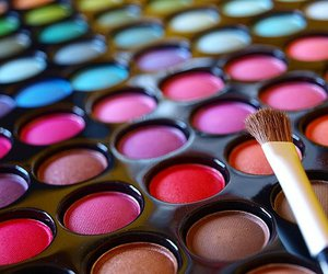 makeup, make up, and colors image