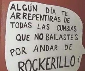 rock, bailar, and cumbia image