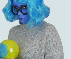blue, diy, and inside out image