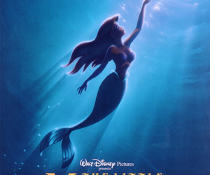 disney, the little mermaid, and ariel image