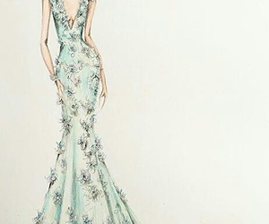 Alexander McQueen, draw, and fashion image