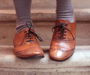 shoes, oxford, and vintage image