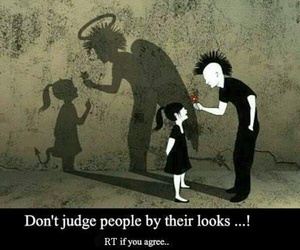 angel, judge, and Devil image