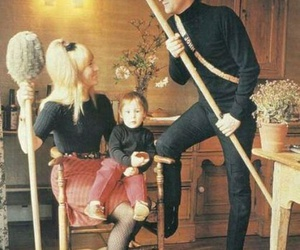 john lennon, cynthia powell, and julian lennon image