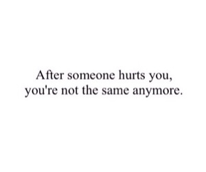 hurt, quotes, and sad image